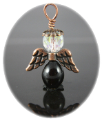 Black Agate - Angel of Support