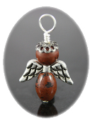 Mahogany Obsidian - Angel of Positive Action