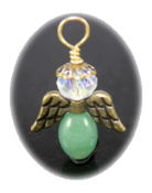 Green Aventurine - Angel of Luck and Chance